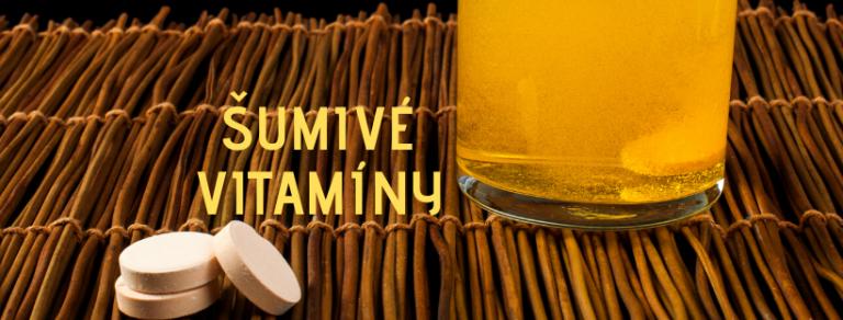 Šumivé vitamíny tomax