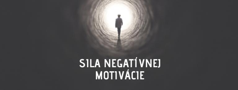 sila negativnej motivacie tomax