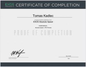 exos - absolute speed