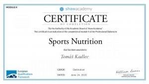 Sports nutrition - Shaw academy