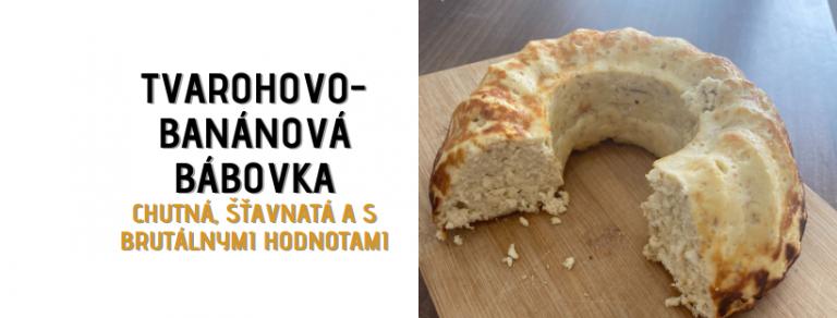 TVAROHOVO-BANÁNOVÁ BÁBOVKA tomax