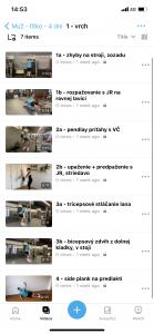 trening videa vyzva tomax